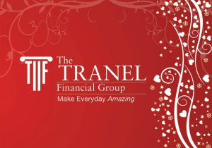 Tranel Valentine's Day logo for financial advisors.